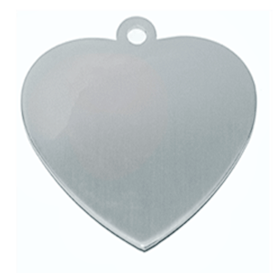 Id Corazon Acero Inoxidable 316  18,5*20mm